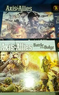 Axis and Allies Original & The Battle of The Bulge Avalon Hill