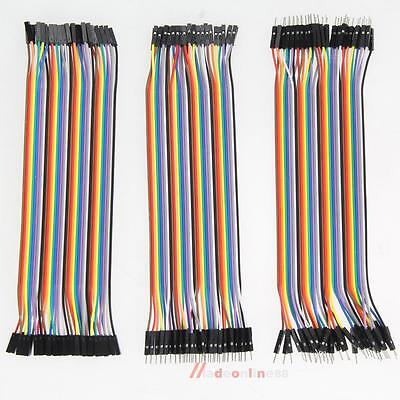 120 20cm Dupont WireM/M+Male to Female+Female to Female Jumper Cable for Arduino