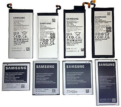 New Original Samsung Galaxy S2 S3 S4 S5 S6 S6 Edge S7 S7 Edge Genuine Battery