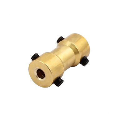 3.0mm to 2.3mm Copper DIY Motor Shaft Coupling Joint Connector for Toy Car