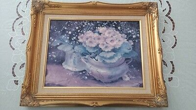 Elegant  Chinese  oil Painting Prints With Nice Frame