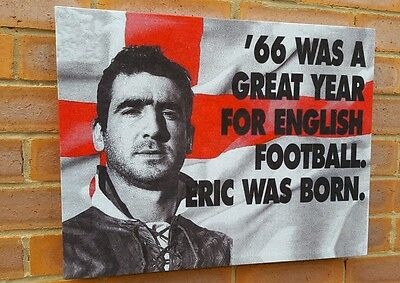 Eric Cantona - Manchester United  - Wall Canvas