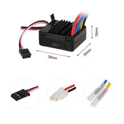 GoolRC 60A Brushed ESC with BEC for 1/10 RC Car O6W5