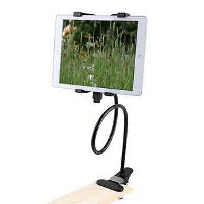 Tablet Holder for iPad Samsung Android Gooseneck Rotating Stand Desk Clamp Mount