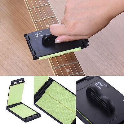 ENO Quick Guitar Strings Fingerboard Scrubber Cleaner Cloth Bass Cleaning Tool