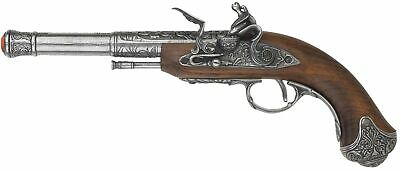 Denix 18th Century Left Handed India Flintlock Pistol Replica