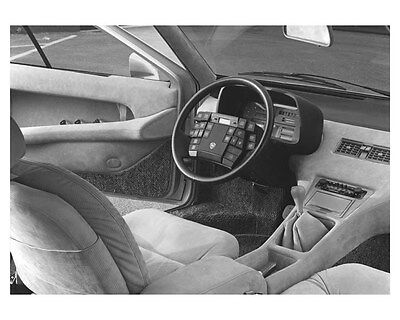 1980 Lancia Medusa Ital Design Concept Interior Photo och6842