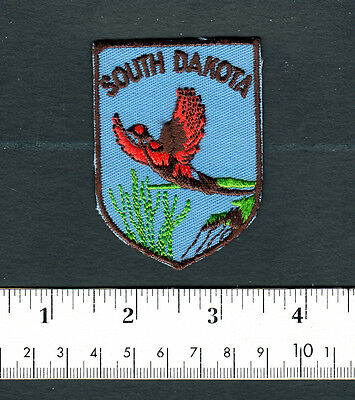 South Dakota State Embroidered Patch...Travel Souvenir.....#879P8