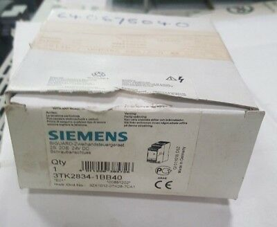 Siemens 3Tk2834-1Bb40 Safety Relay