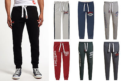 New Mens Superdry Joggers Selection Various Styles & Colours