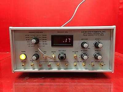 Colby Instruments PG1000A 1MHz - 1000MHz Pulse Generator