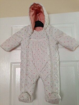 Baby All In One Snowsuit Size 3-6 Months/ 18lbs