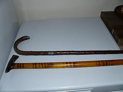 Collectable Vintage 2 Walking Sticks