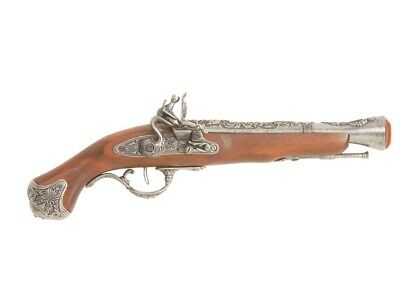 Denix 18th Century English Flintlock Blunderbuss Pistol Replica