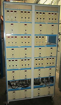 Qty. 31 Power One Lms 3 X 300 Watt Lm5 2000 Power Supply Rack Setup