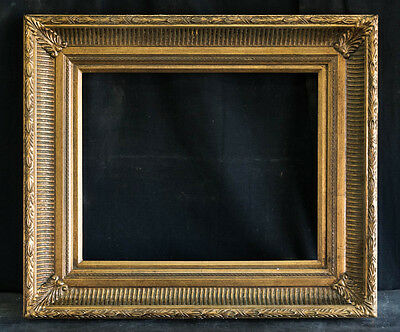 """Antique Reproduction Ornate Gold Frame 16"""" x 20"""", 4"""" Wide, 2"""" Thick"""