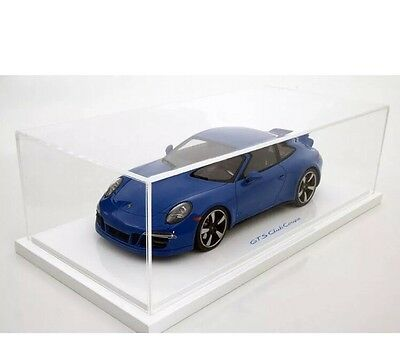 New 1/18 GT Spirit 2015 Porsche 911(991) GTS Club Coupe Blue 1000pcs
