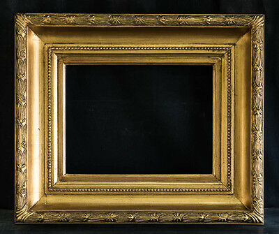 """Antique Reproduction Ornate Gold Frame 12"""" x 16"""", 5"""" Wide, 3"""" Thick"""