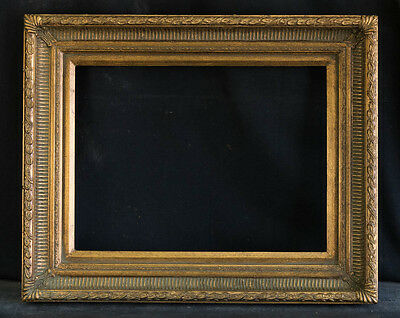"""Antique Reproduction Ornate Gold Frame 12"""" x 16"""", 2 1/2"""" Wide, 2"""" Thick"""