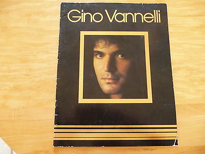 "Gino Vannelli: ""Brother to Brother 1979 Official Program Tour"" 11""x 14"" 20Pages"