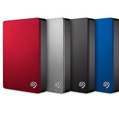New Seagate 4tb Backup Plus Portable External Hard Drive
