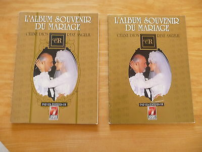 Celine Dion Wedding Souvenir: 2 books in French, First & Second edition 1994