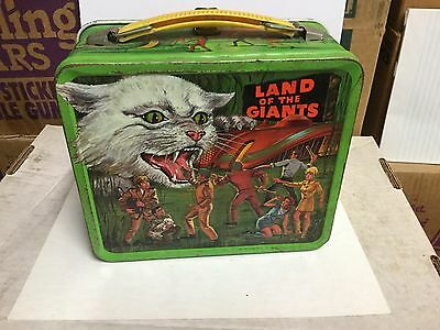 Land of the Giants rare metal lunch box 1960s