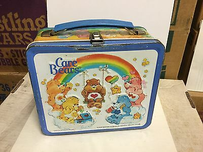 Care Bears rare metal lunch box 1980s