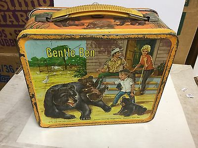 Gentle Ben rare metal lunch box