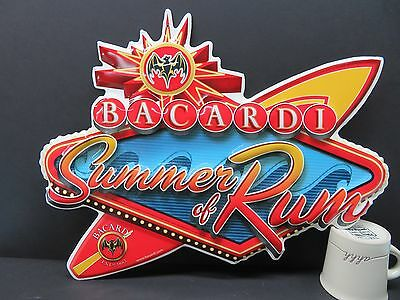 Bacardi Summer of Rum Tin Sign