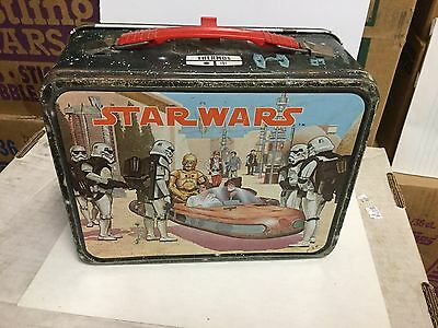Star Wars rare metal lunch box 1977