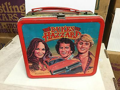 Dukes of Hazzard  rare metal lunch box 1980s