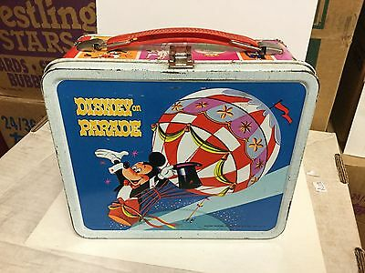 Disney Parade  metal lunch box 1960s