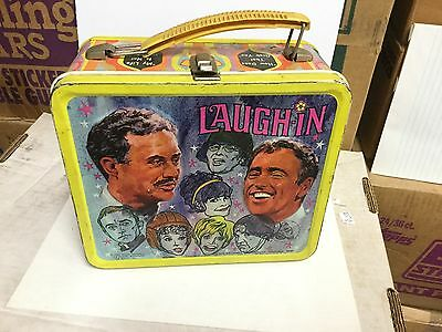 Laugh-In rare metal lunch box 1960s