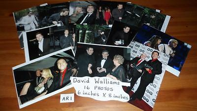 "David Walliams Set of x16 Photos 6""x8""Inch Collectable TV memorabilia Prints AR1"