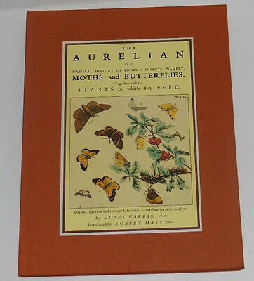 Entomology Aurelian History English Insects Moths and Butterflies Moses Harris