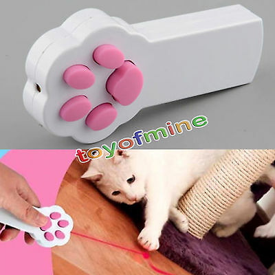 Funny Pet Cat Dog Interactive Automatic Laser Pointer Laser Exercise Toy