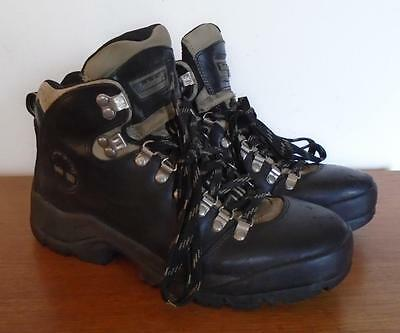 Timberland Men's Black Leather Act Hiking Boots 68085 Size 10 M