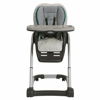 NEW Graco Blossom 4-in-1 SAPPHIRE Highchair High Chair Baby Adjustable 1893802