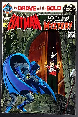 Brave and the Bold 93 (7.0) featuring Batman & House of Mystery Neal Adams cover