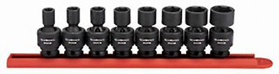 GEARWRENCH 8 Pc. 3/8Inch Drive 6 Point SAE Universal Impact Socket Set KD84917N