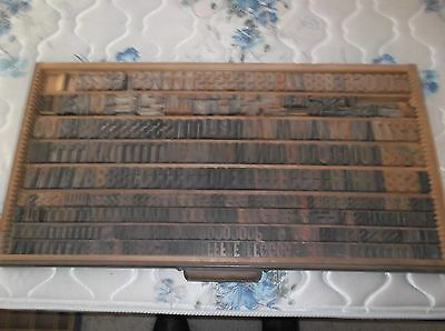 wood type drawer with TYPE