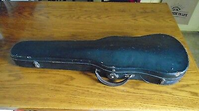 antique violin case from 1800's