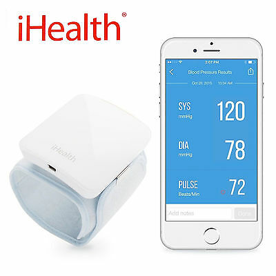 New iHealth BP7 Wireless Digital Blood Pressure Monitor iPad iPhone Android
