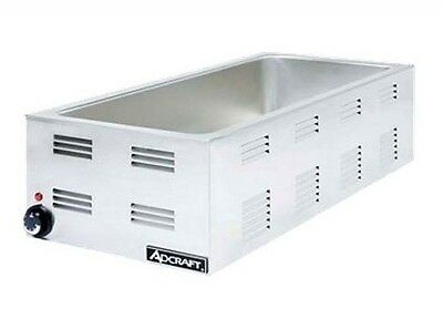 "Food Warmer, 12""x27"" opening, electric, countertop, base only, Adcraft FW-1500W"