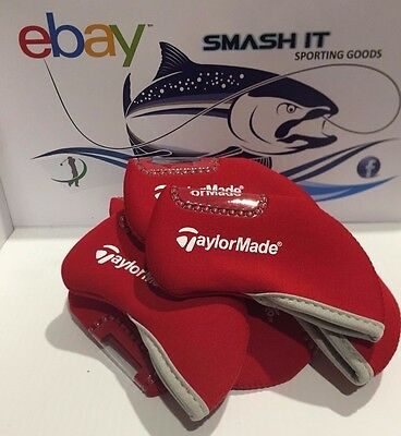 Taylormade Iron Covers Red