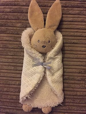 M And S Marks And Spencers Bunny Rabbit Comforter Cuddly Toy