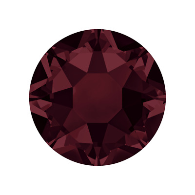 Swarovski Hot Fix Crystals Burgundy