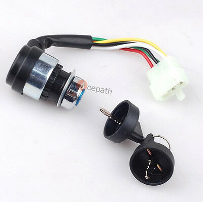 KEY IGNITION SWITCH for Go Kart&Dune Buggy CHINESE 150/250CC Roketa Carter Bros
