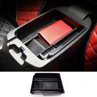 Armrest Storage Box Organizer Center Console Tray for 2011-2014 KIA SPORTAGE K6